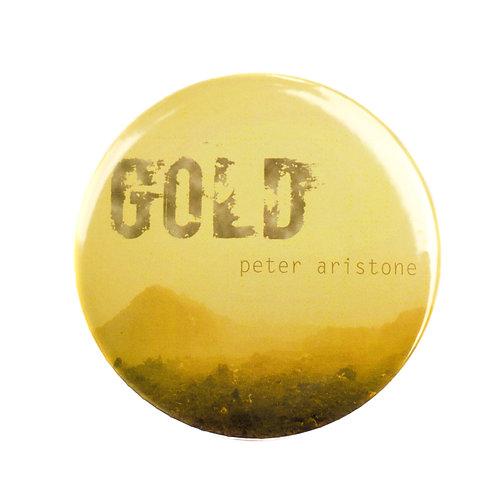 """Placka """"GOLD"""", 75 mm"""