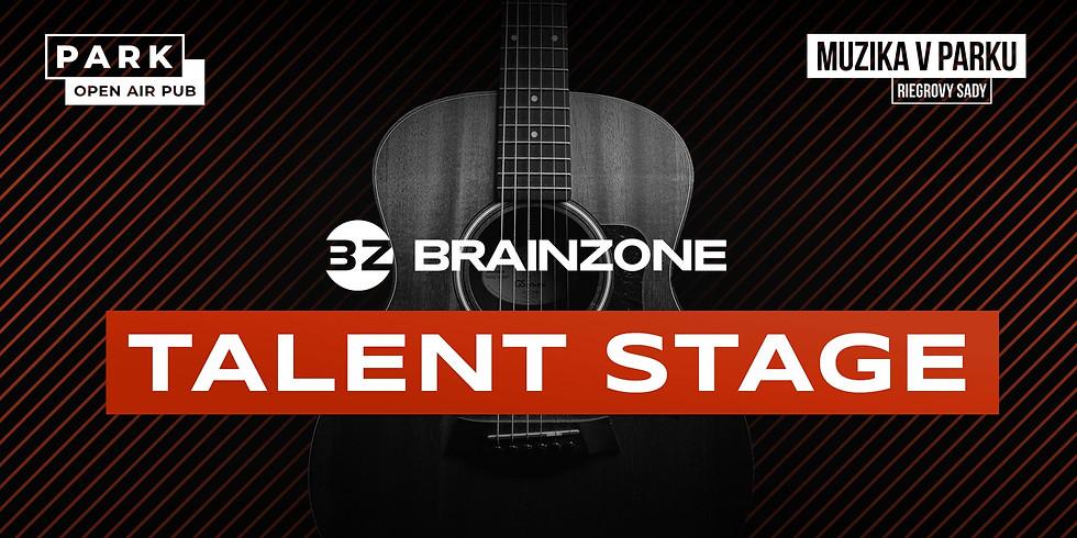 Muzika v Parku Riegrovy sady - BrainZone Talent Stage | Praha