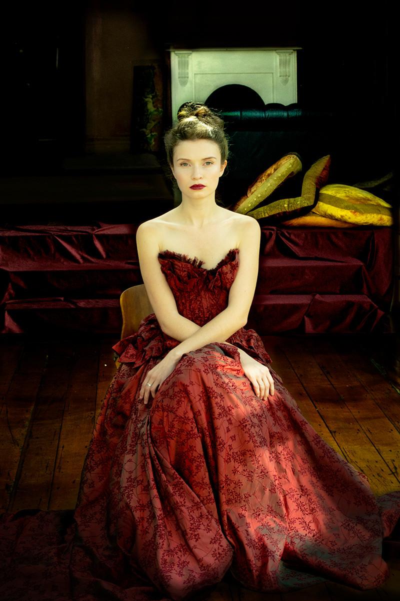 Portrait of Anastasia Gerasimova