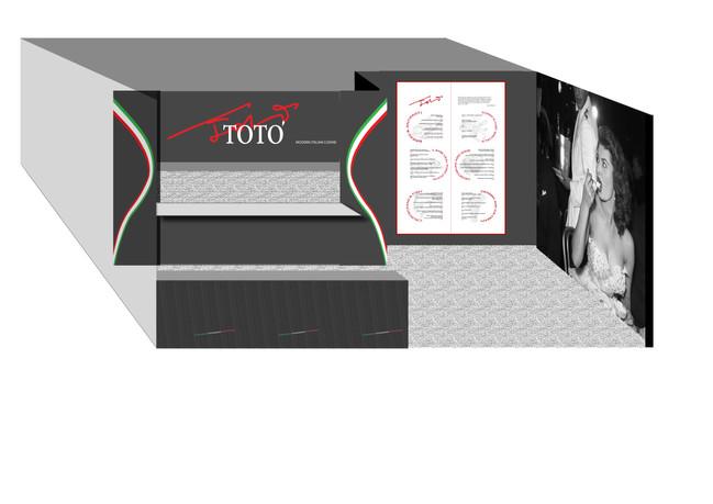 Stand design Toto Restaurant Auckland