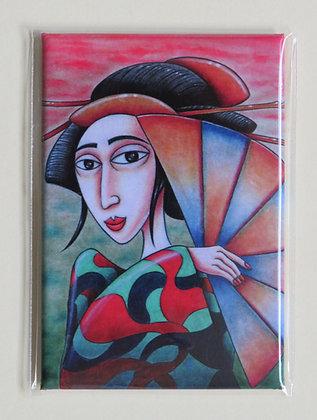'Kyoto Girl' magnet