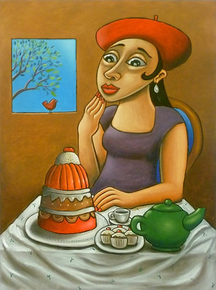 'The Dessert' Postcard