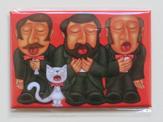 'The 4 Tenors' magnet