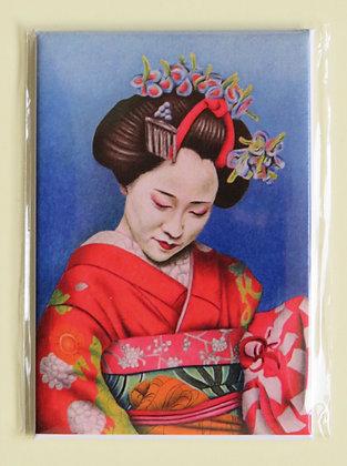 'Tokyo Girl' magnet
