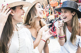 Girls with Hats
