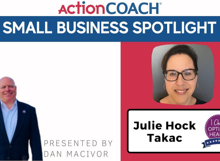 Small Business Spotlight - TakAction with Julie Takac