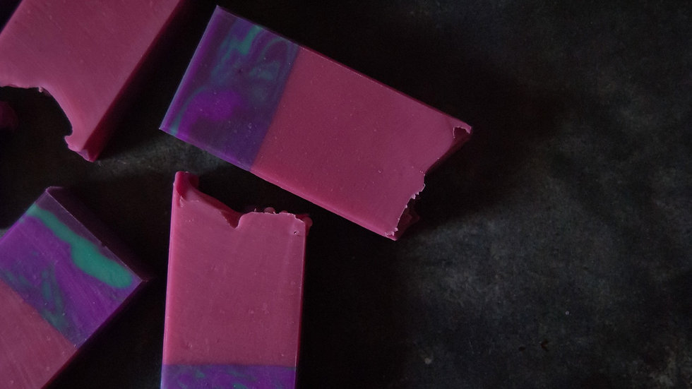 Blackberry Magnolia Artisan Soap
