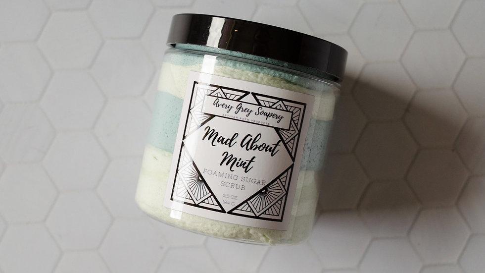 Mad About Mint Foaming Sugar Scrub