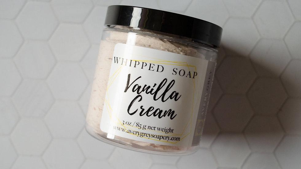 Vanilla Cream Whipped Soap