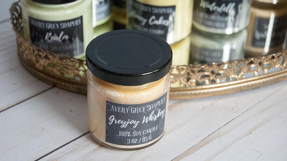 Greyjoy Whiskey GOT Mini Candle
