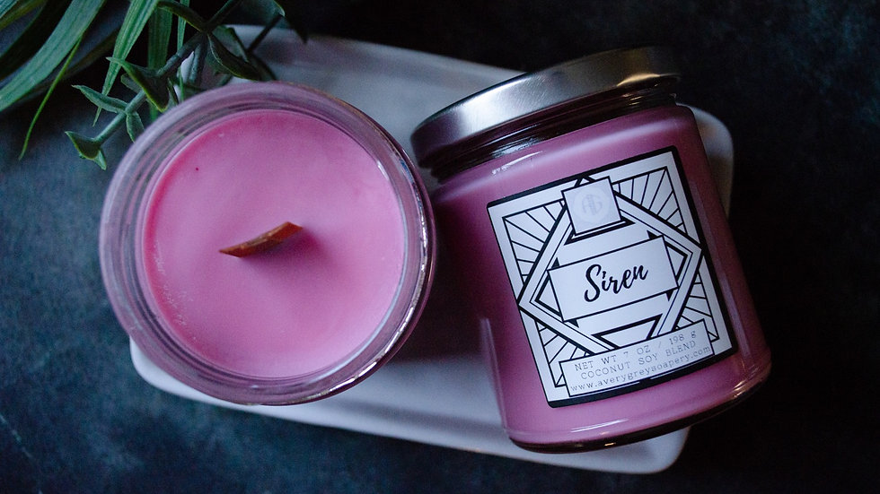 Siren Wooden Wick Candle