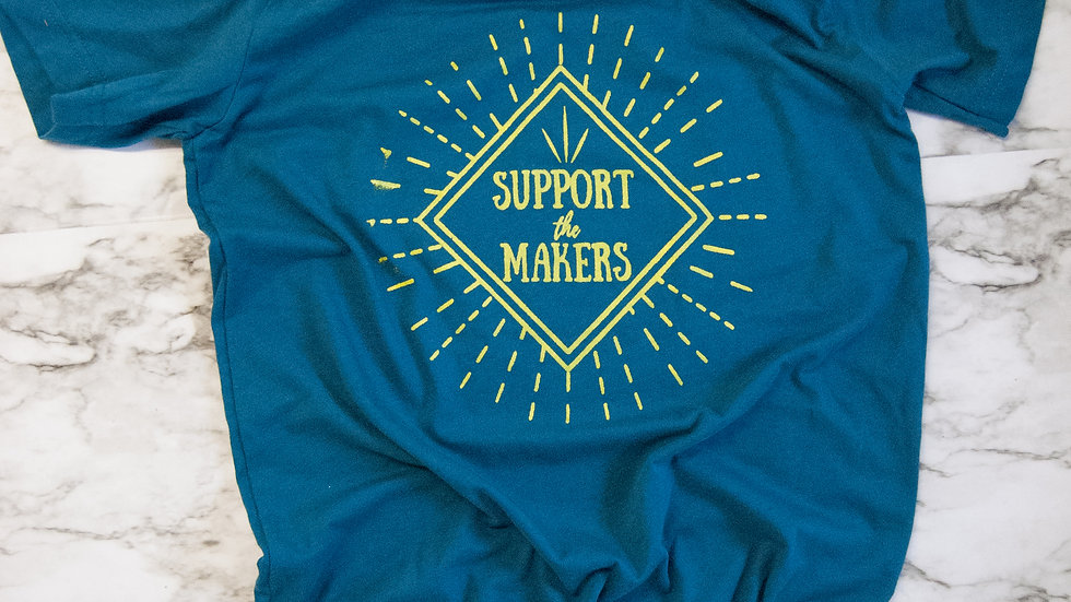 Support the Makers Tee