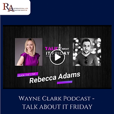 Talk About It Friday Podcast. Wayne Clar