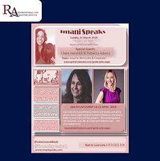 Imani Radio Rebecca Adams, Imani Speaks