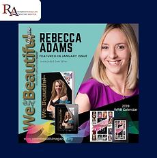 We are Beautiful magazine Rebecca Adams.