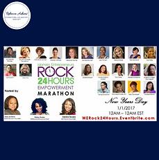 We Rock 24hr Empowerment Marathon 2017 R