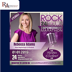 We Rock 24hr Empowerment Marathon Rebecc