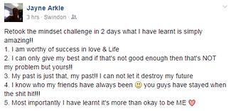 Jayne Arkle testimonial Rebecca Adams mi