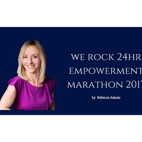 We Rock 24hr Empowerment Marathon