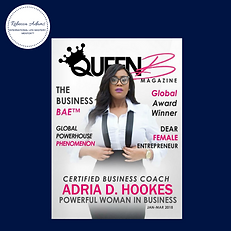 Queen B magazine Rebecca Adams Adria D H