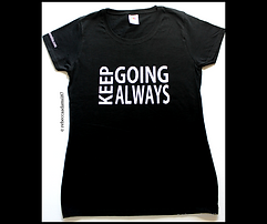 Keep Going Always Tshirt.png