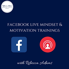Facebook Live Mindset and motivation tra
