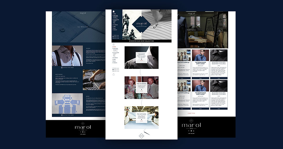 Marol Website Design