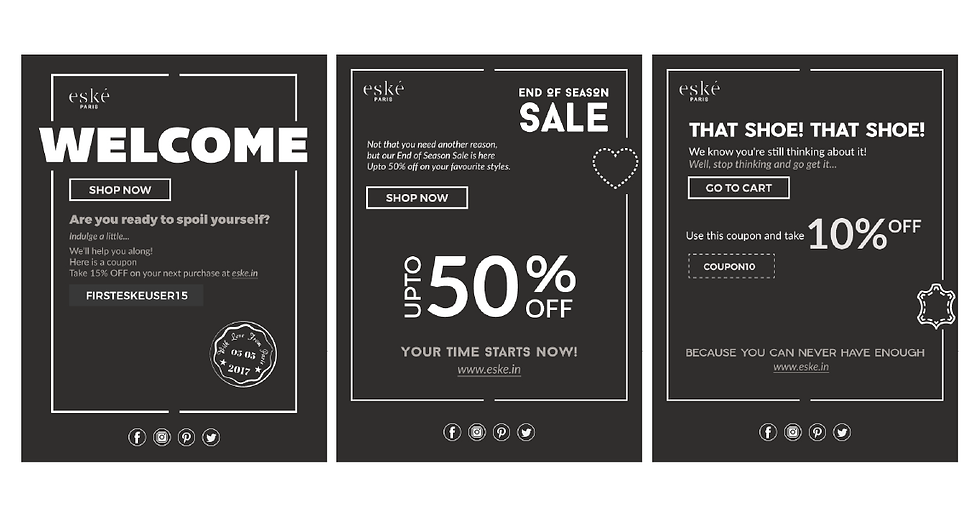 Eske Paris Email Designs