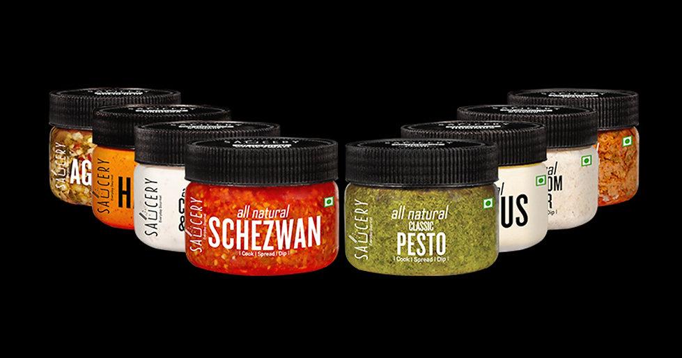 Saucery Packaging Design