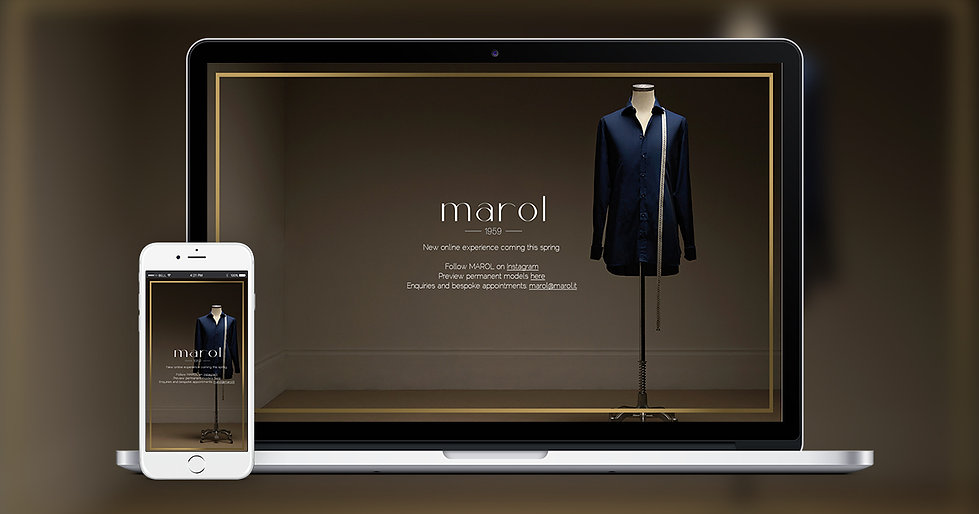 Marol Website Landing Page