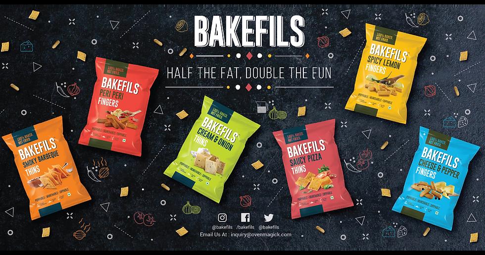 Bakefils Website Landing Page