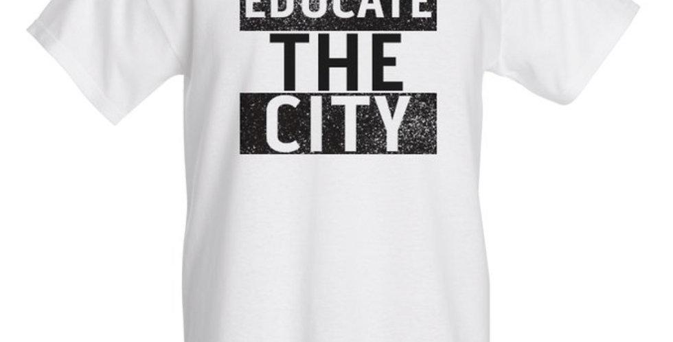 Educate The City Short Sleeve Shirt