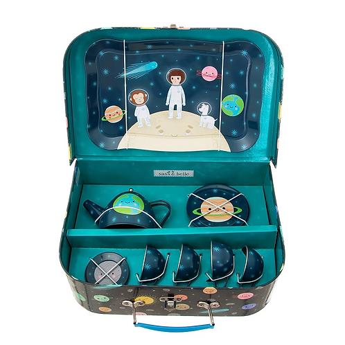 Space Explorers Kids Tea Set