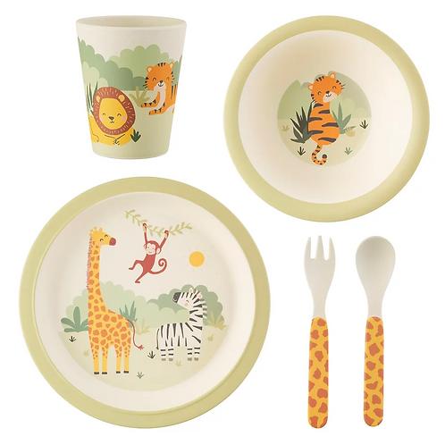 Savannah Safari Bamboo Tablewear Set