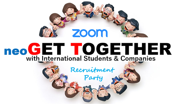 Zoom neoGetTogether LOGO recruitment par