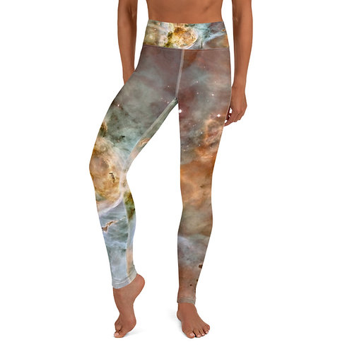 Carina Nebula Yoga Leggings