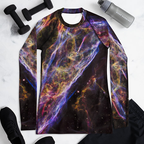 Long Sleeved Under Armour Veil Nebula