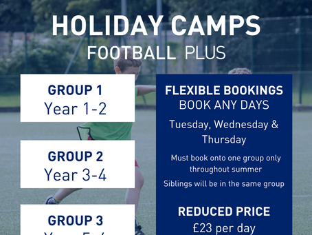 How to book onto uSports Summer 2020 Holiday Camps | Football Plus