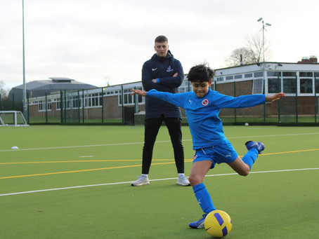 Private Football Sessions Are Helping To Build Children's Confidence