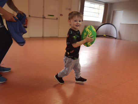 Try Our Brand New Woodley Toddler Rugby inspired by the Rugby World Cup!