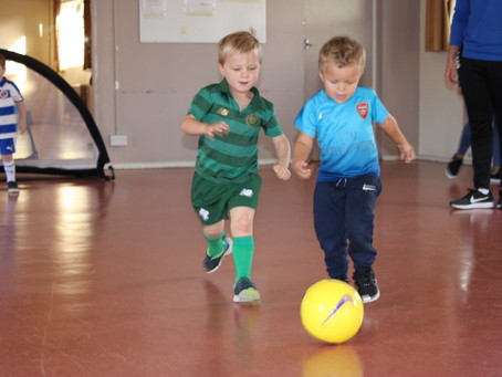 Toddler Football: Supporting your child's early development in accordance with EYFS
