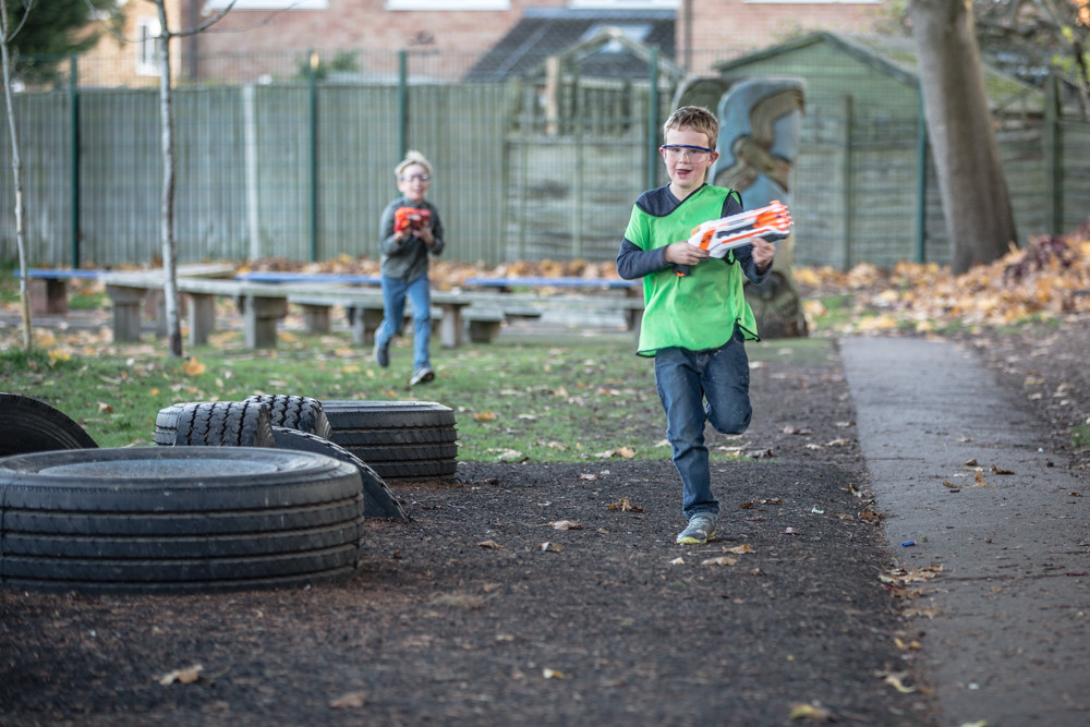 NERF Gun Event