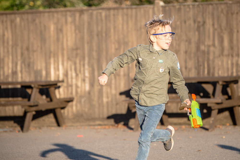 NERF GUN Party for kids