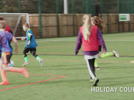 Why would your child love a football camp in the school holidays?