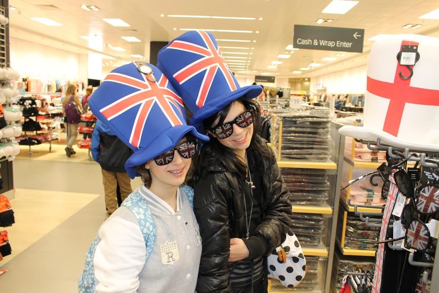 Séjour en Angleterre