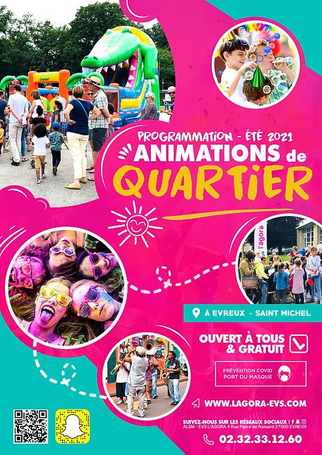 Affiche Animations Quartier Été 2021.p