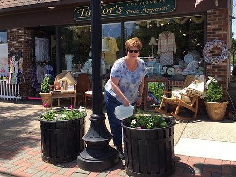 Christine watering (2).JPG