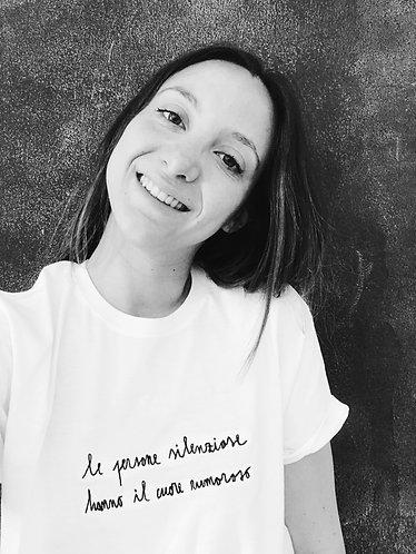 T-shirt Le persone silenziose
