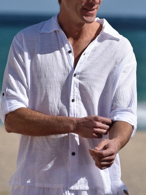 Harbor Shirt in White