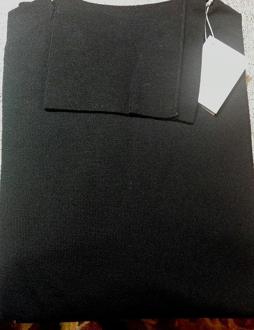 Scott & Charters Turtle Neck Sweater in Black*